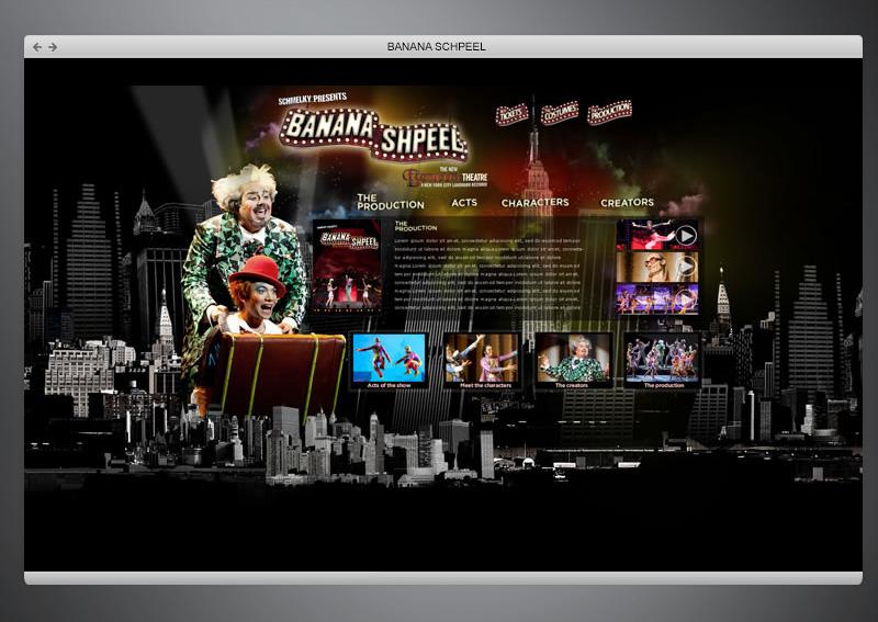 Banana Schpeel + Web Design