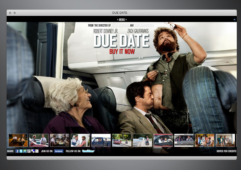 Due Date Movie + Web Design