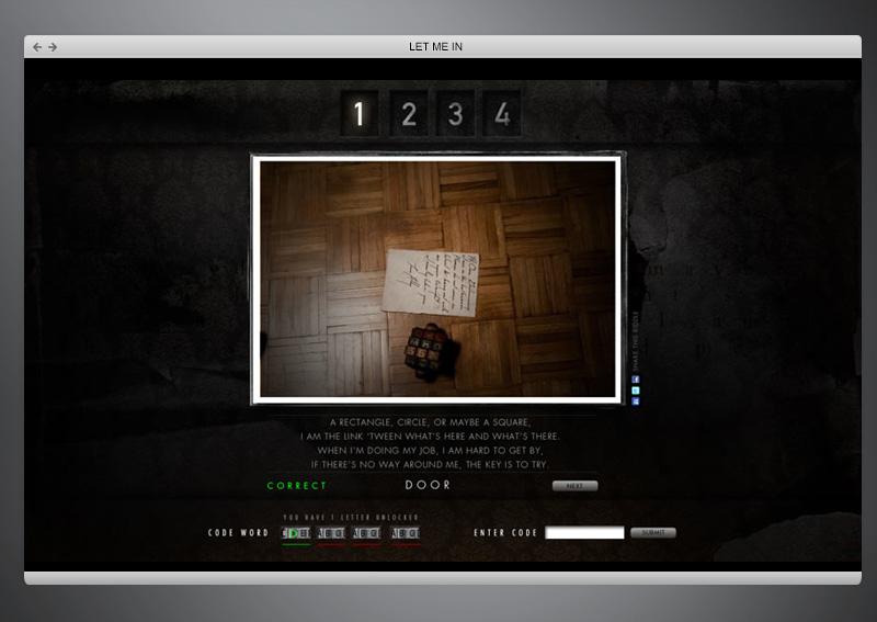 Let Me In Movie + Web Design