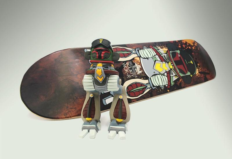dez_BountyWokr_Sculpture_SkateDeck