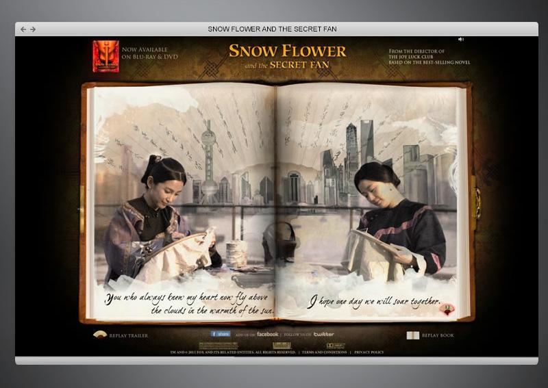 Snow Flower + Web Design